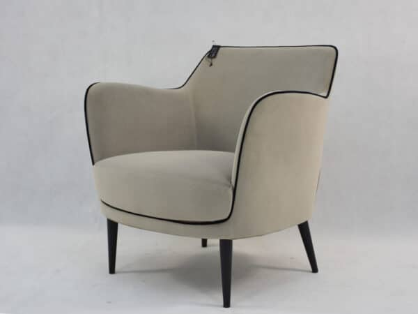 Fauteuil Neptune taupe