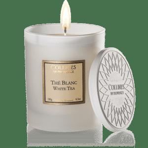 Bougie parfumée thé blanc