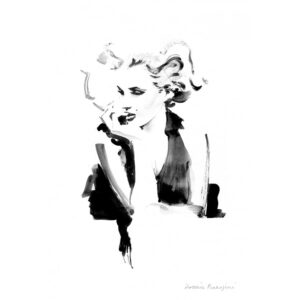 Tirage Hossein - Marylin bw