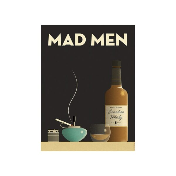 Tirage Persan - Mad Men