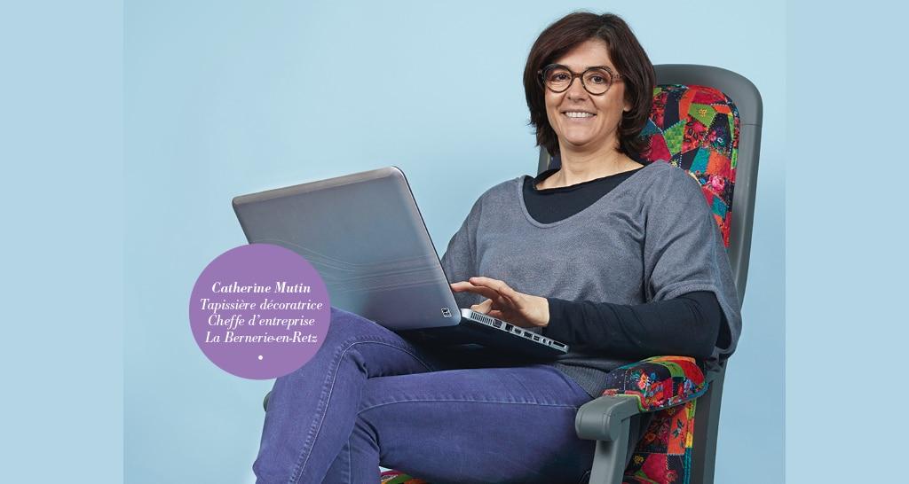 Interview Catherine Mutin : montrer qui je suis et ce que je sais faire